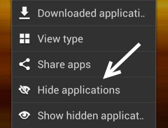 Hidde-ứng dụng