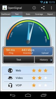 Open-Signal-speed-test