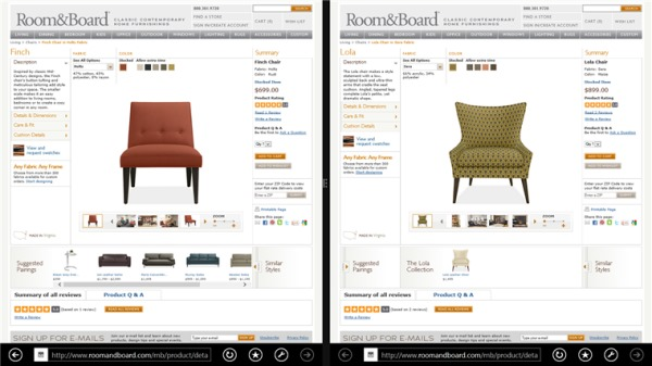 Side-by-Side-browsing