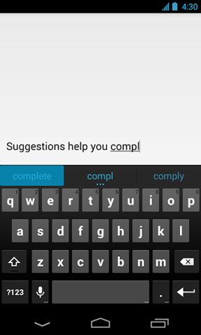 google-keyboard-Характеристика