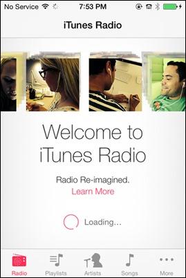 iTunes ραδιόφωνο