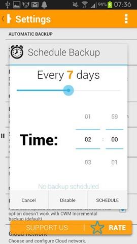schedule-backup