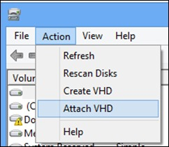приєднувати-VHD