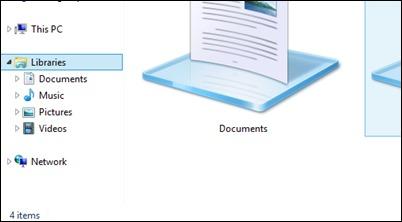 file-explorer- bibliotekos