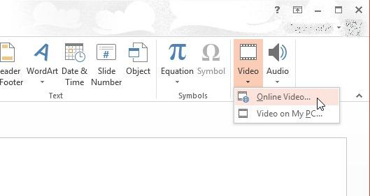comment ins u00e9rer une vid u00e9o youtube dans un fichier ms powerpoint 2013