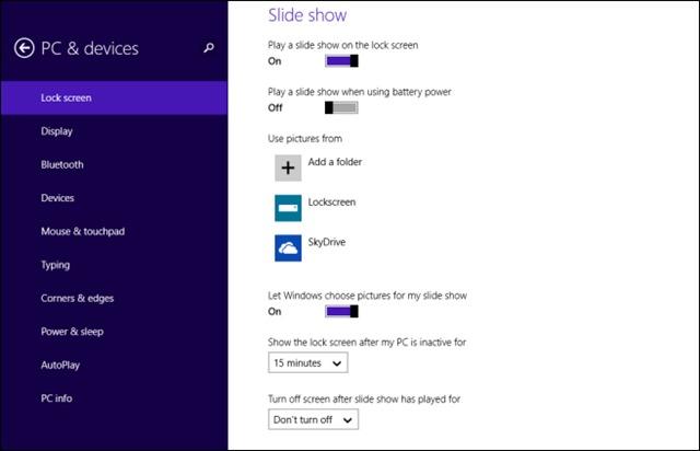 lockscreen-slide-show