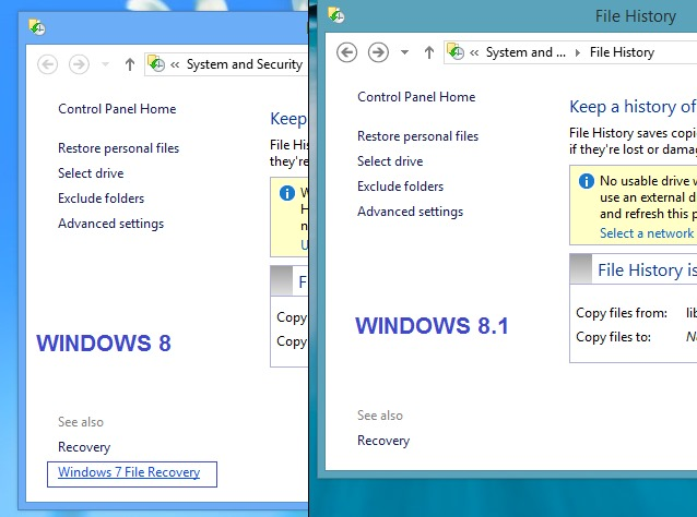 Windows 5 8 feature sites die nicht mehr in windows 8 1 verf 252 gbar