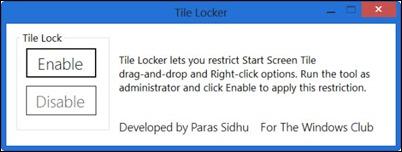Windows 8-flis-skap