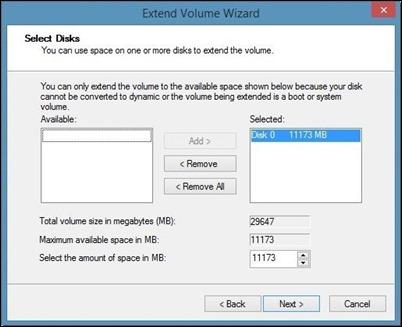 Extend-virtualbox disk størrelse