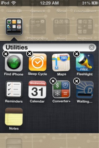Odustani-Update iOS