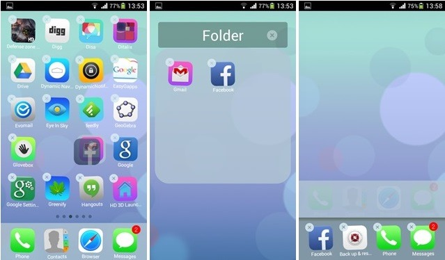 Download Espier iOS 7 Launcher & Screen Locker for Android - STEALTH