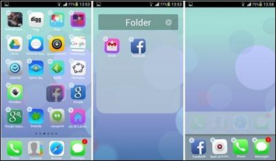 Espier, Launcher iOS7