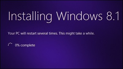 ติดตั้ง Windows-8.1-PRO-RTM