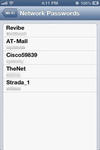 Network-Passwords