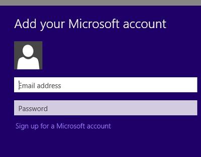 add-Microsoft konto