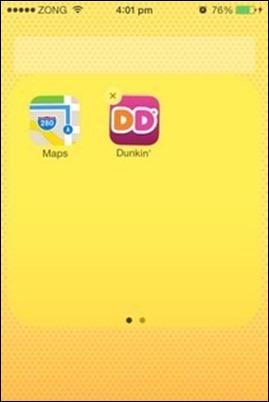 iOS mappa