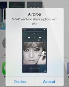 iOS 7-הצנחה