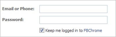 login-to-fbchrome