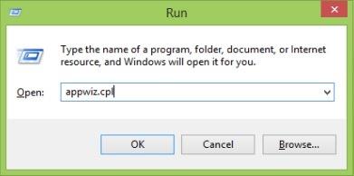 otvorite značajke programa