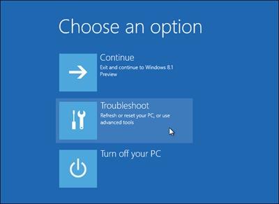 Résoudre option-