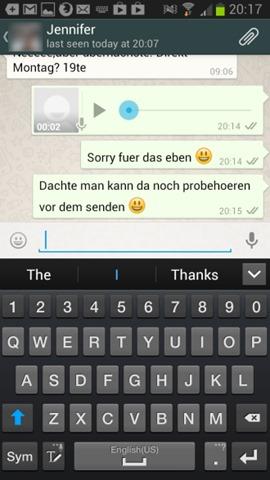 WhatsApp-röstmeddelanden
