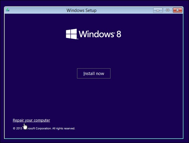 windows-КСНУМКС-install-repair-your-computer