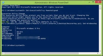 windows-Produkt-Schlüssel