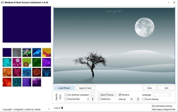 Старт екрана Персонализер-за-Windows-КСНУМКС