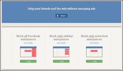 adblockplus FACEBOOK
