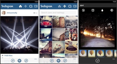 Instagram App-windows-phone