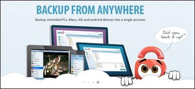 iDrive-çevrimiçi yedekleme