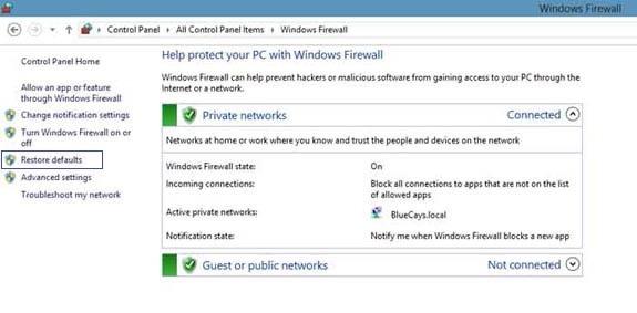Фаервол windows 8 заработок инет