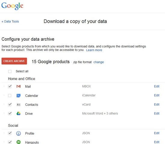 Gmail Arkisto