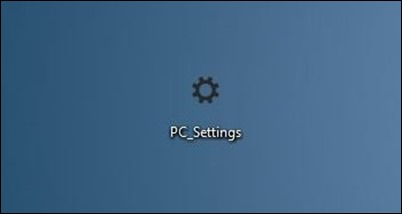 PC-Settings-shortcut-on-desktop