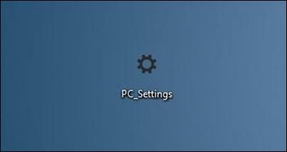 PCSettings-shortcut-on-desktop
