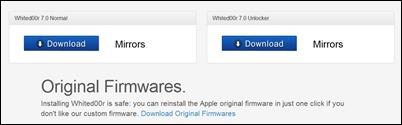 brugerdefinerede IPSW downloads