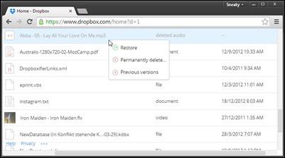 Dropbox-Restore-deleted-Dateien