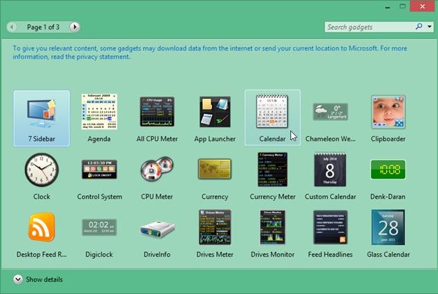 гаджет для Windows 8.1 - фото 5