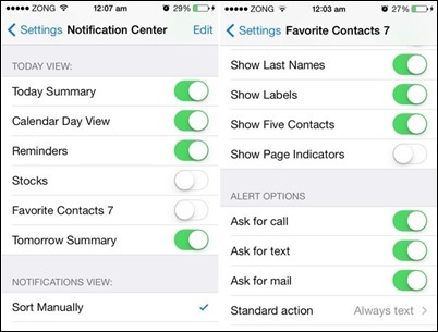 favorite-contact-7-settings