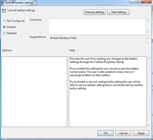 bloquear-taskbar-settingshabilitado