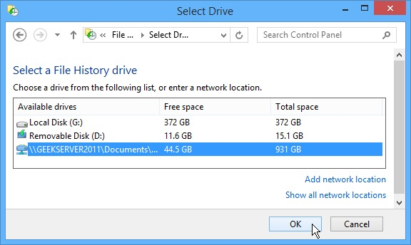 Select-Network-Drive