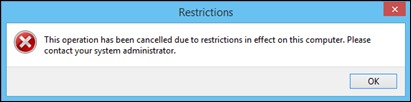 簡單運行Blocker_Restrictions