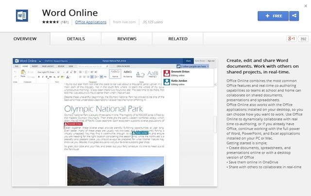 chrome-word-online