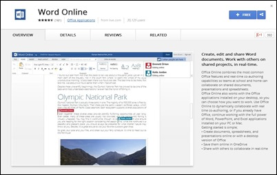 chrome-word-online