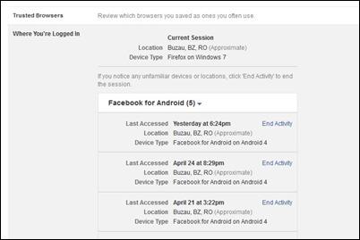 end-facebook aktívny zasadnutie