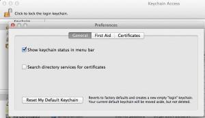 keychain-preferences