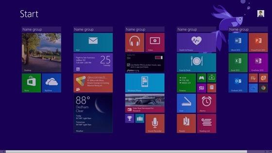 windows8.1-začetni zaslon