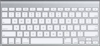 Mac-OS-X-toetsenbord