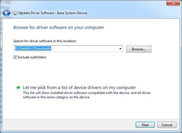 navegador para el conductor