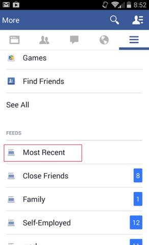 facebook-мобильный-Недавний-новости